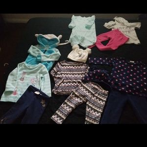 Toddler  winter bundle 12 pieces!